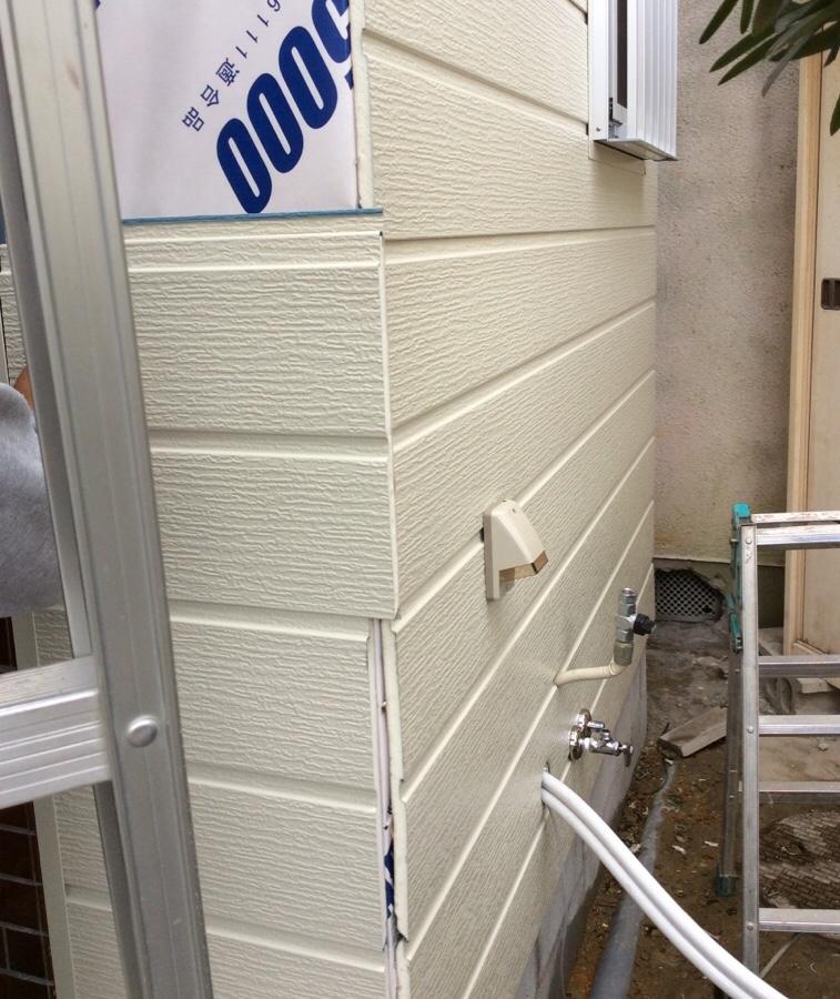 浴室外壁サイディング