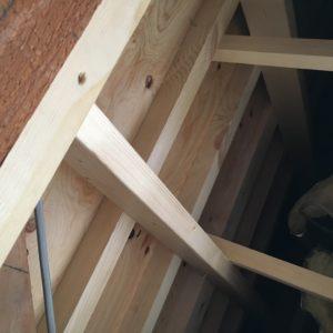 屋根裏下地造作