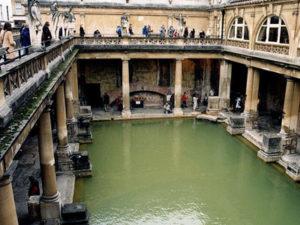 イギリスの旧ローマ帝国跡地バース